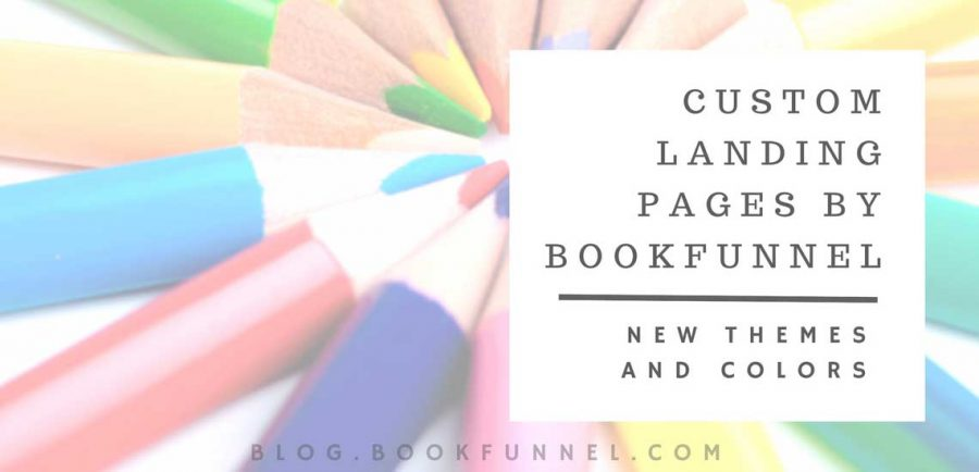 Custom Book Landing Pages by BookFunnel