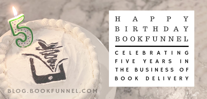 Happy Birthday, BookFunnel!