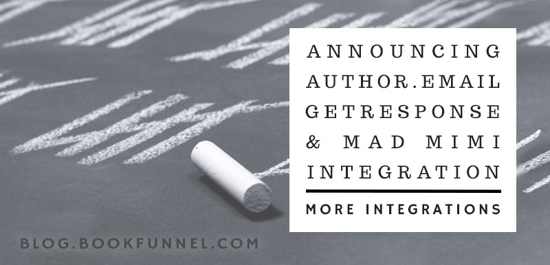 Integrate BookFunnel with Mad Mimi, GetResponse, and Author.Email